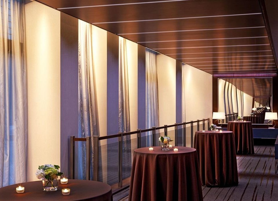 curtain function hall conference hall auditorium Lobby convention center restaurant ballroom window treatment