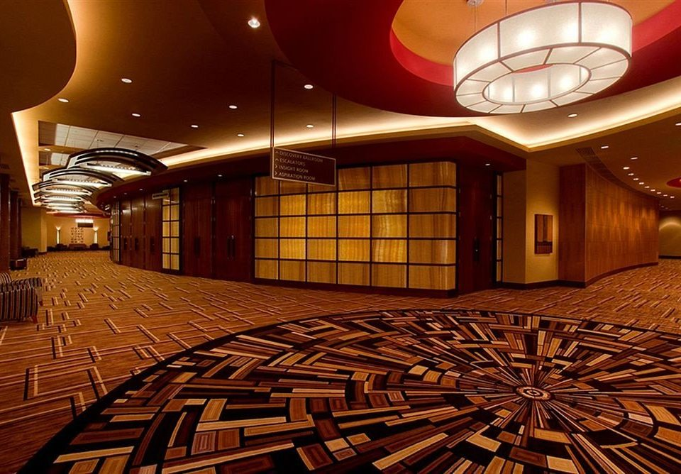 Lobby auditorium function hall theatre stage ballroom screenshot flooring convention center