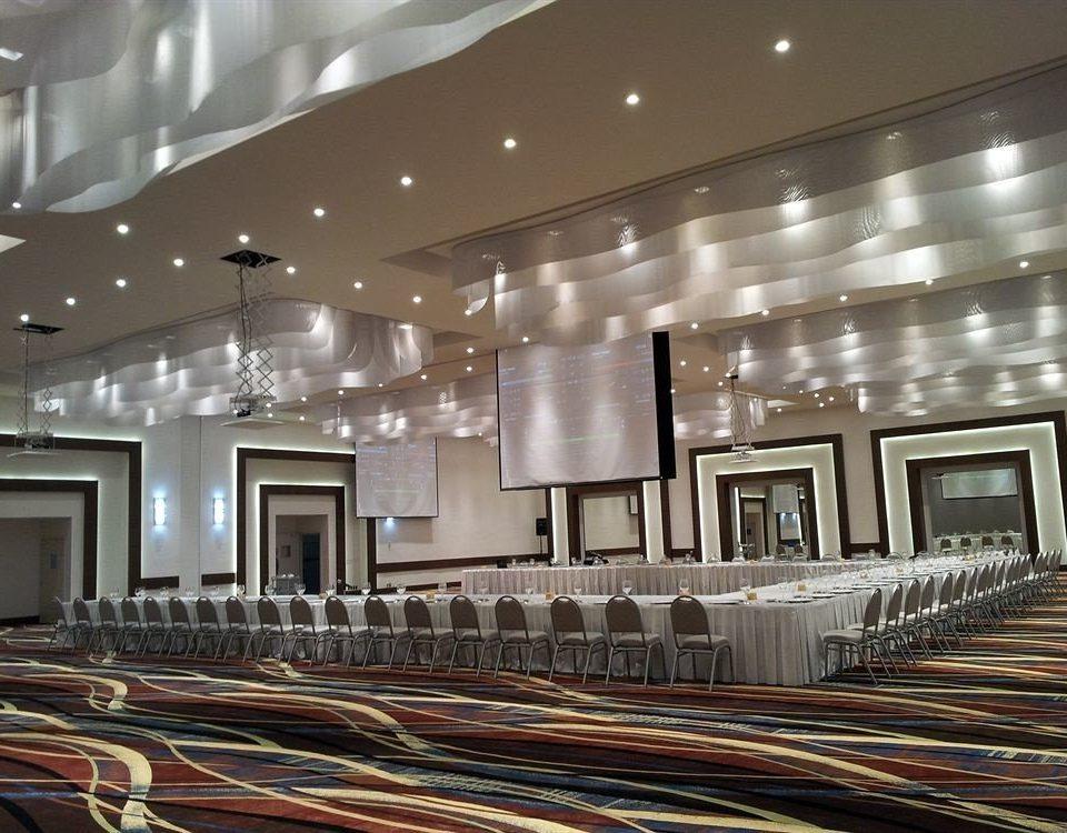 Lobby lighting auditorium daylighting flooring ballroom convention center hall