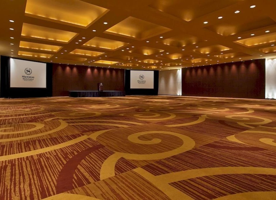 auditorium stage function hall flooring Lobby ballroom convention center wood flooring theatre