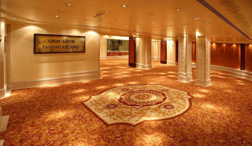 Lobby ballroom function hall flooring theatre auditorium