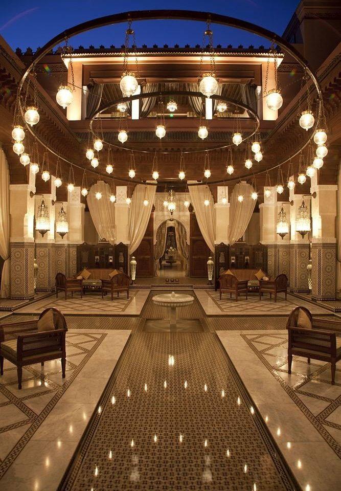 night Lobby lighting function hall auditorium ballroom palace theatre