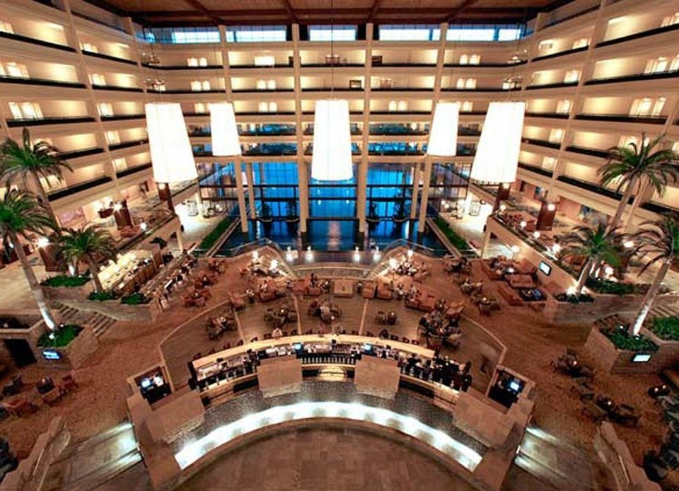 building shopping mall retail plaza convention center Lobby library auditorium hall