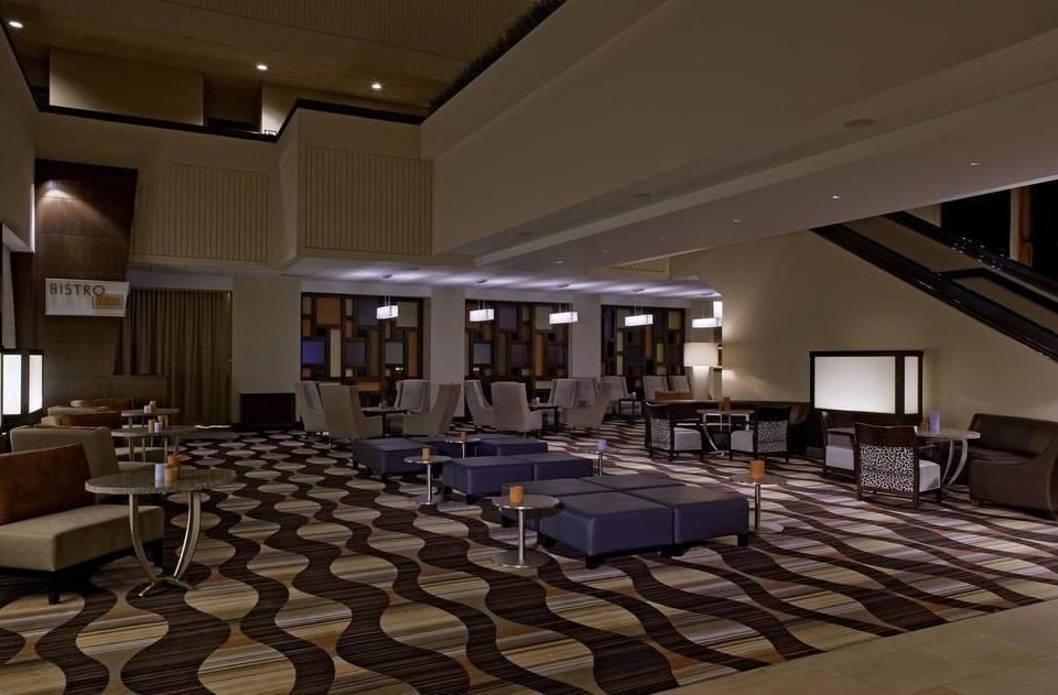 Lobby auditorium conference hall function hall recreation room convention center living room