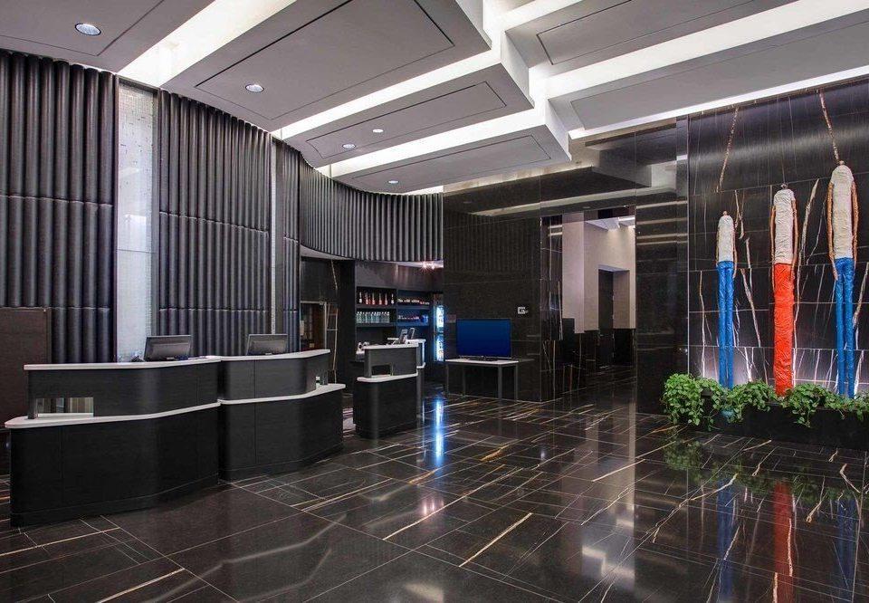 Lobby auditorium headquarters convention center