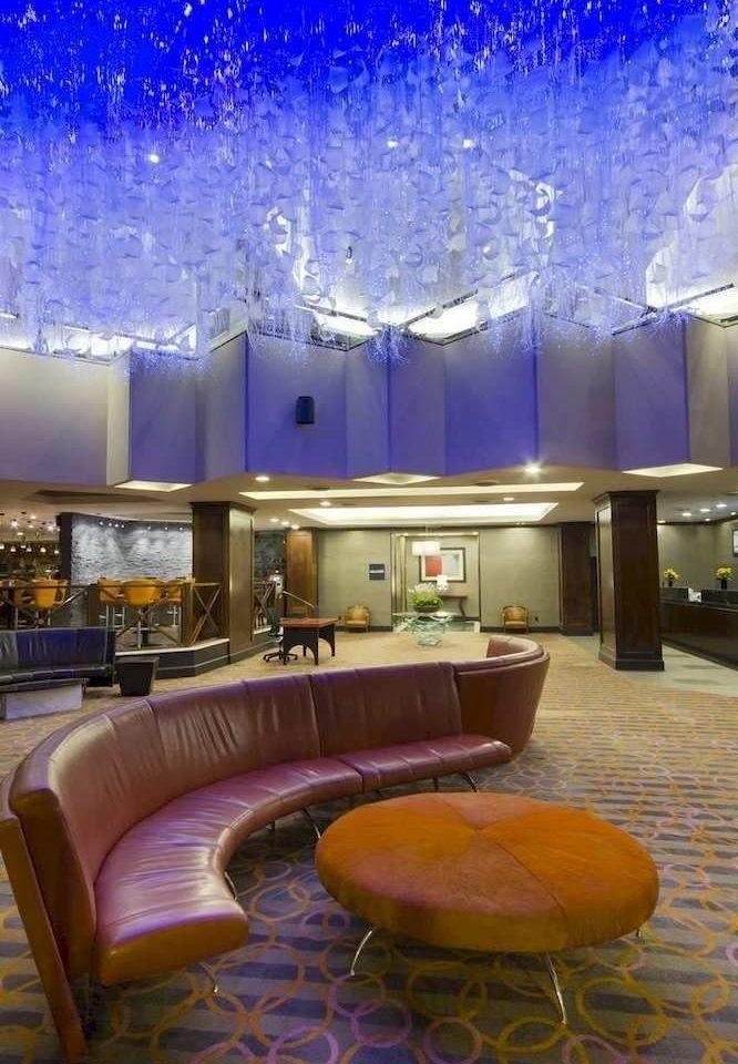 Lobby theatre lighting swimming pool convention center living room auditorium