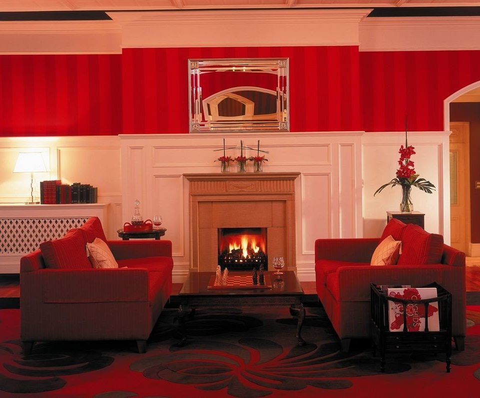 red stage living room auditorium theatre movie theater recreation room Lobby