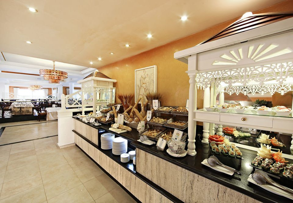 property bakery restaurant counter food Lobby buffet