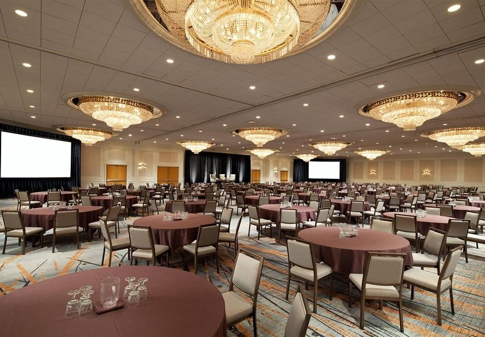 chair function hall conference hall scene restaurant banquet ballroom Lobby convention center
