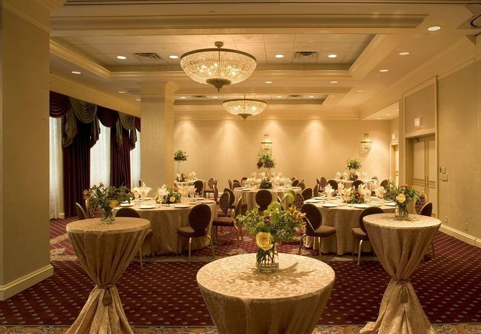 function hall restaurant banquet ballroom conference hall convention center Lobby set