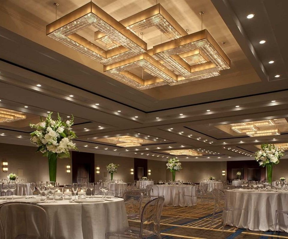 function hall Lobby ballroom convention center banquet conference hall fancy