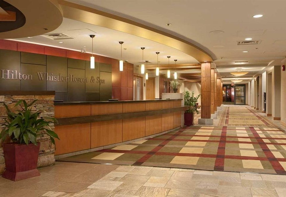 Lobby property building function hall receptionist convention center conference hall hall ballroom flooring