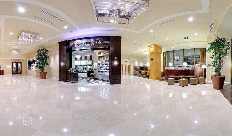 Lobby property building shopping mall retail function hall convention center ballroom hall