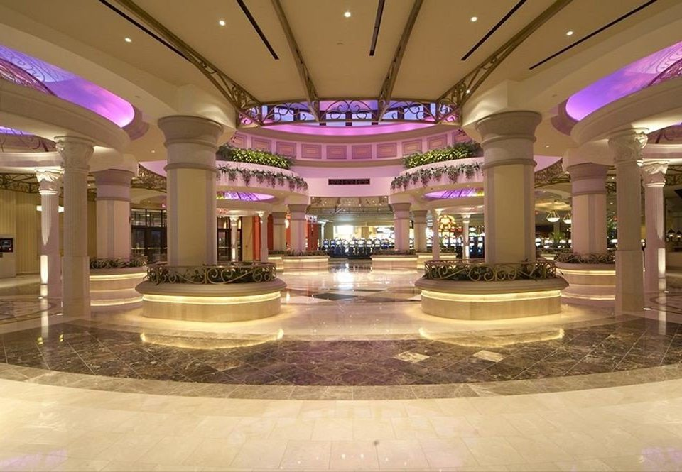 Lobby shopping mall building plaza convention center function hall ballroom long