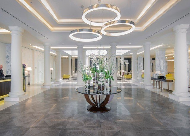 Lobby property building flooring mansion ballroom