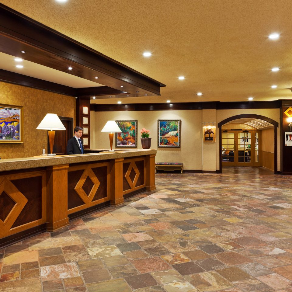building Lobby recreation room function hall ballroom
