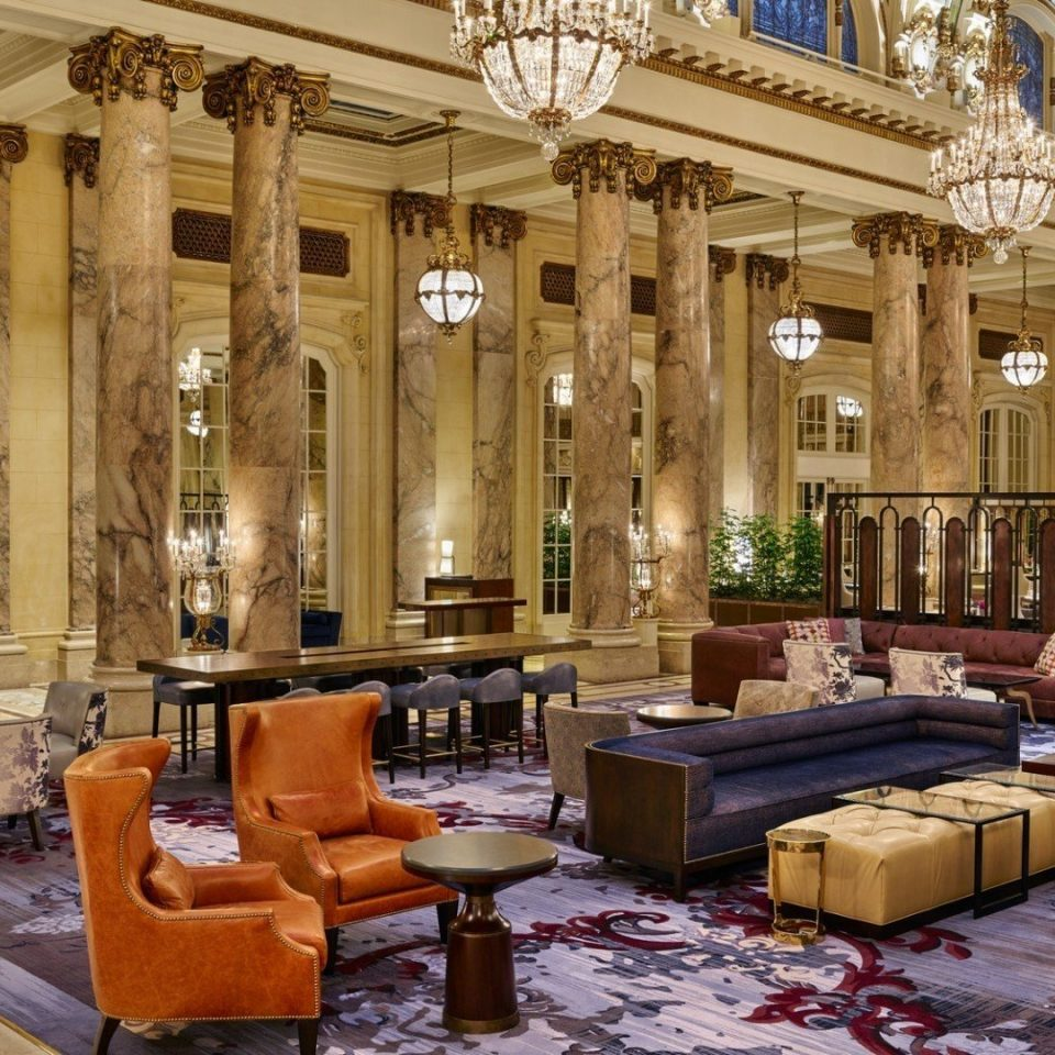 Lobby building palace plaza living room restaurant mansion ballroom synagogue