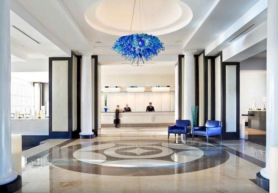 Lobby living room mansion home condominium hall headquarters convention center ballroom