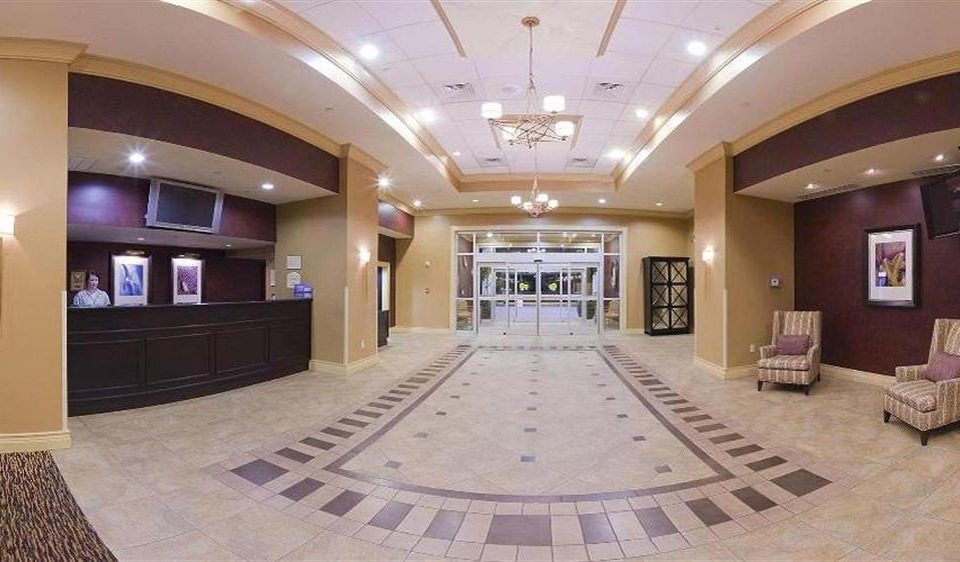 Lobby property mansion function hall recreation room conference hall living room ballroom flooring hall empty