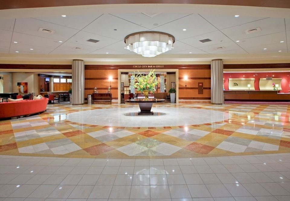 Lobby property function hall recreation room flooring ballroom convention center