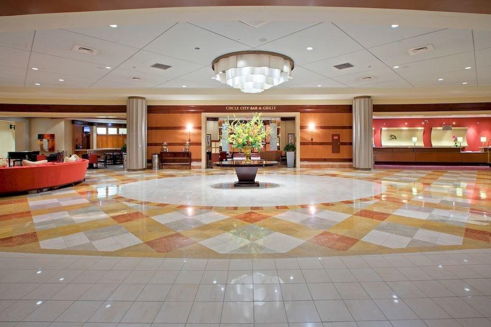 Lobby property function hall recreation room flooring ballroom convention center