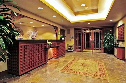 Lobby property recreation room flooring function hall mansion ballroom tiled