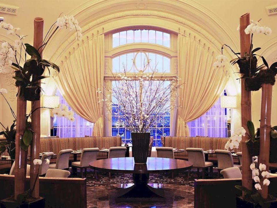 Lobby function hall ballroom