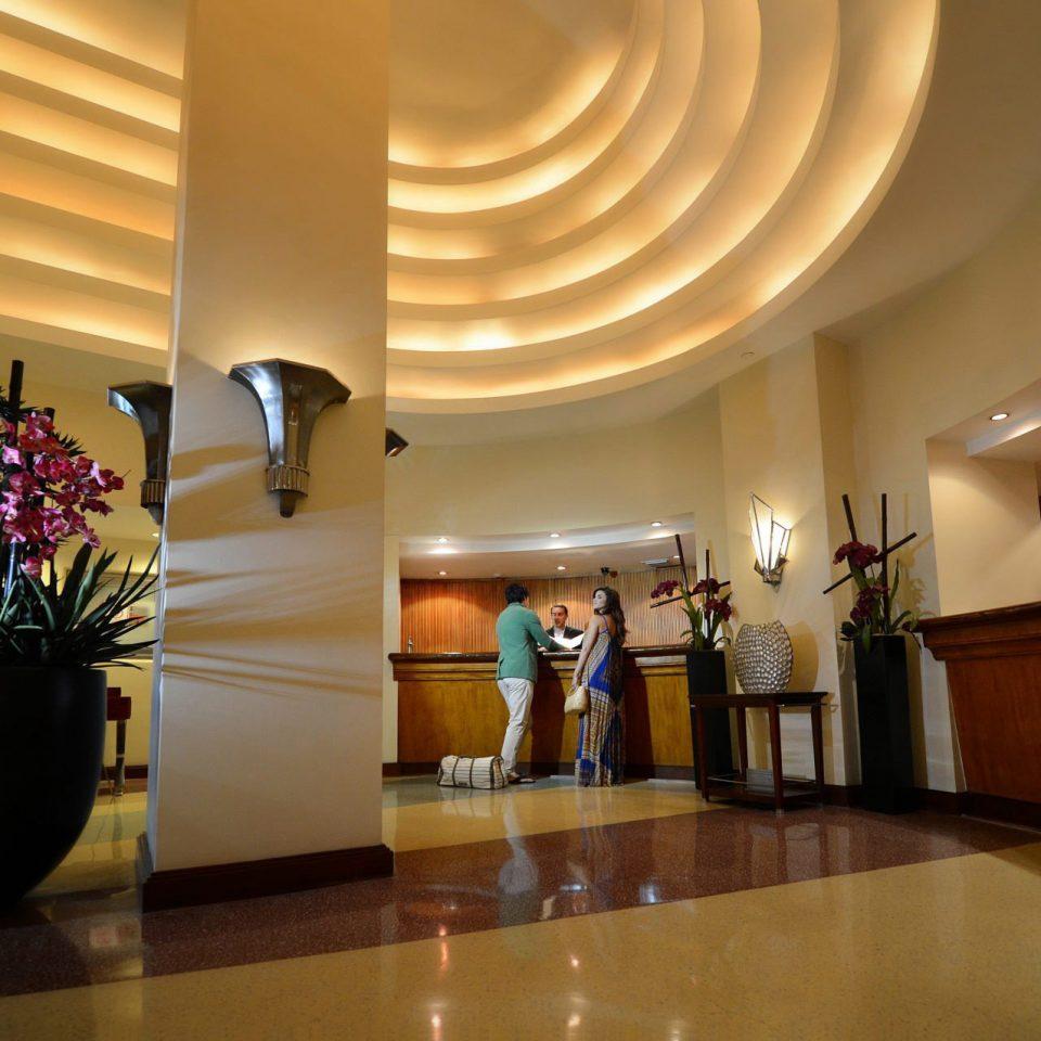 Lobby function hall ballroom hall plant