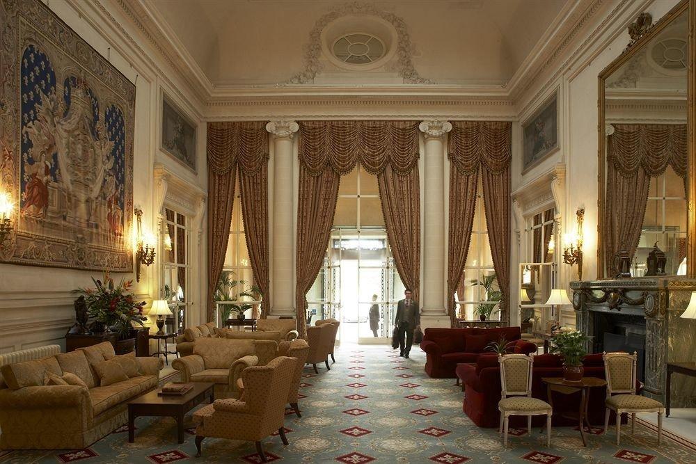 Lobby palace mansion living room ballroom function hall