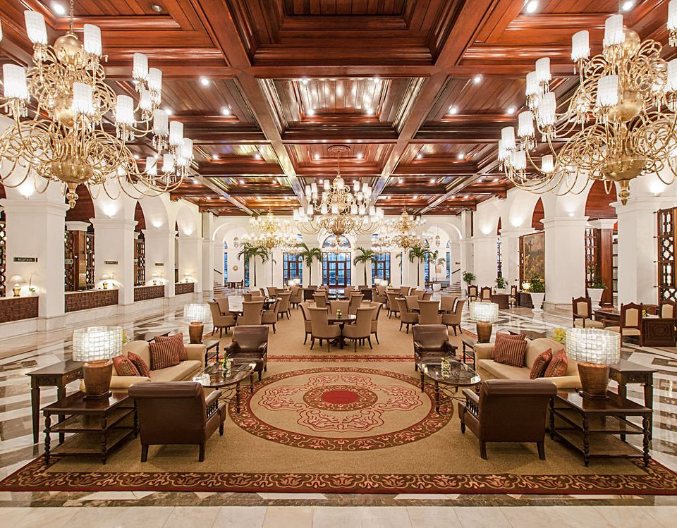 Lobby function hall ballroom palace mansion living room