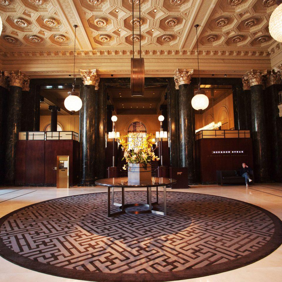 Lobby palace ballroom function hall mansion