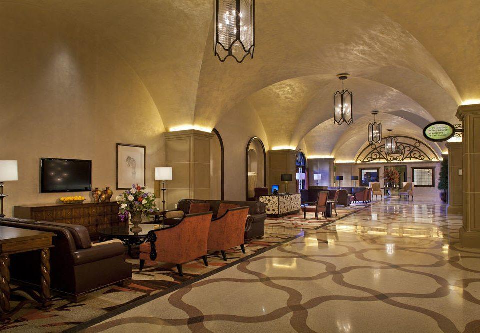 Lobby function hall restaurant ballroom