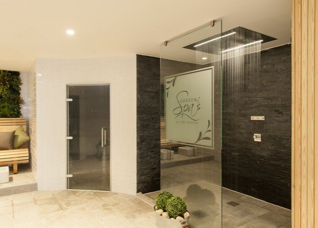 property building home plumbing fixture bathroom Lobby flooring
