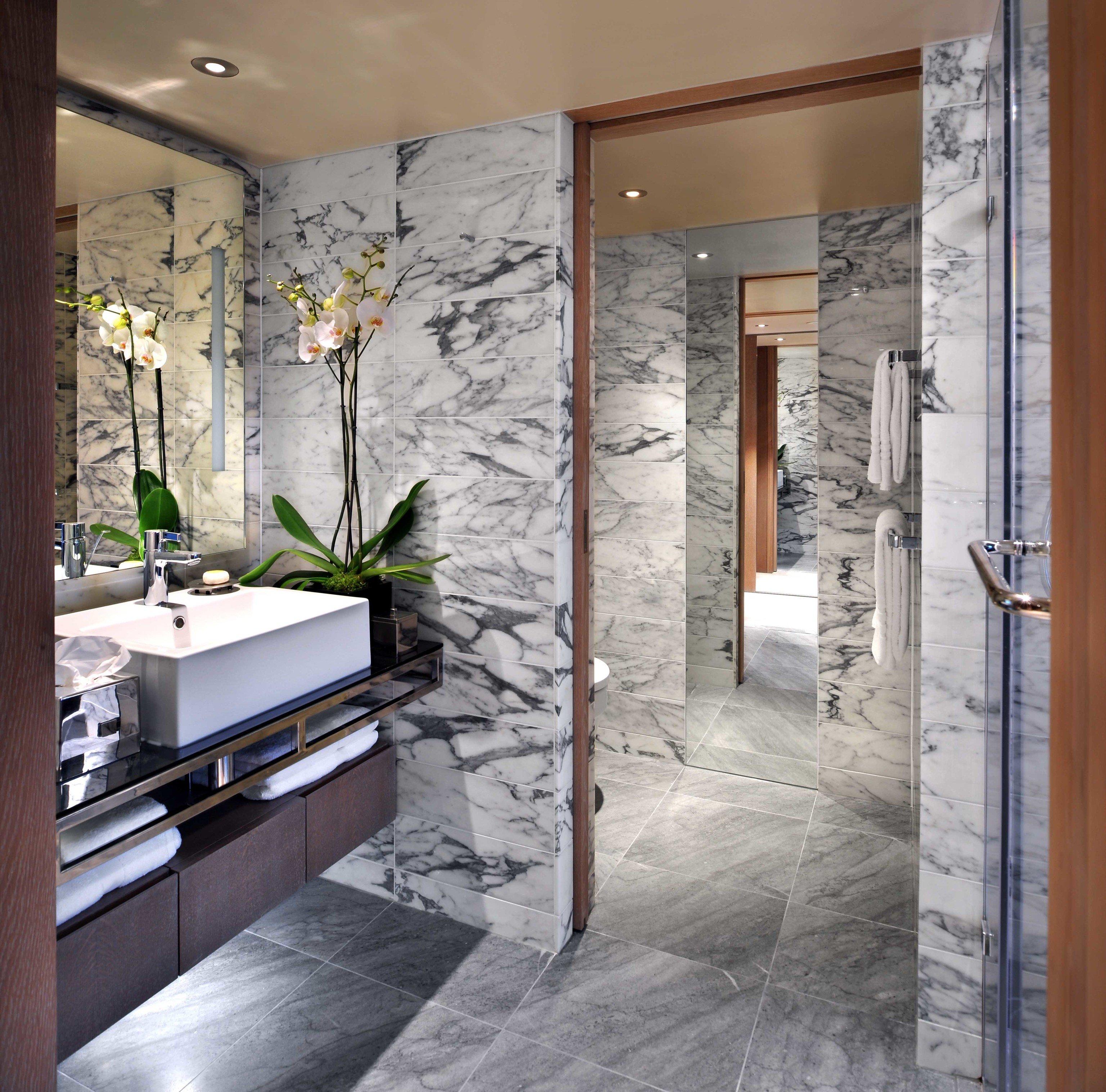 bathroom building tile home flooring interior designer Lobby