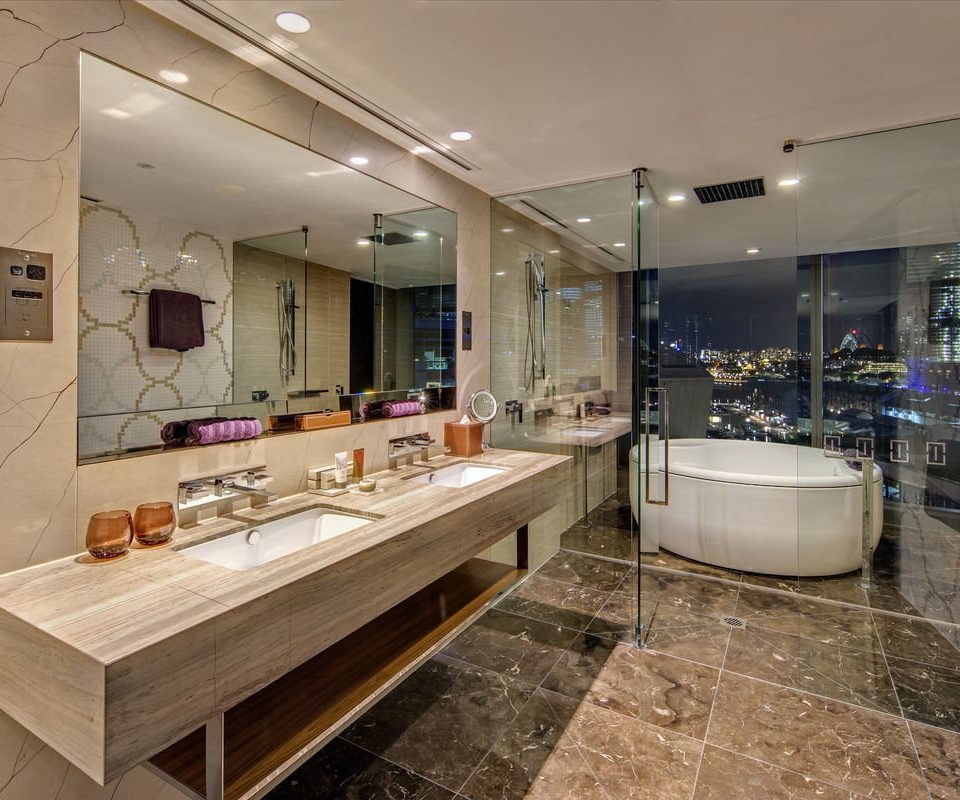 bathroom property sink Lobby counter home flooring