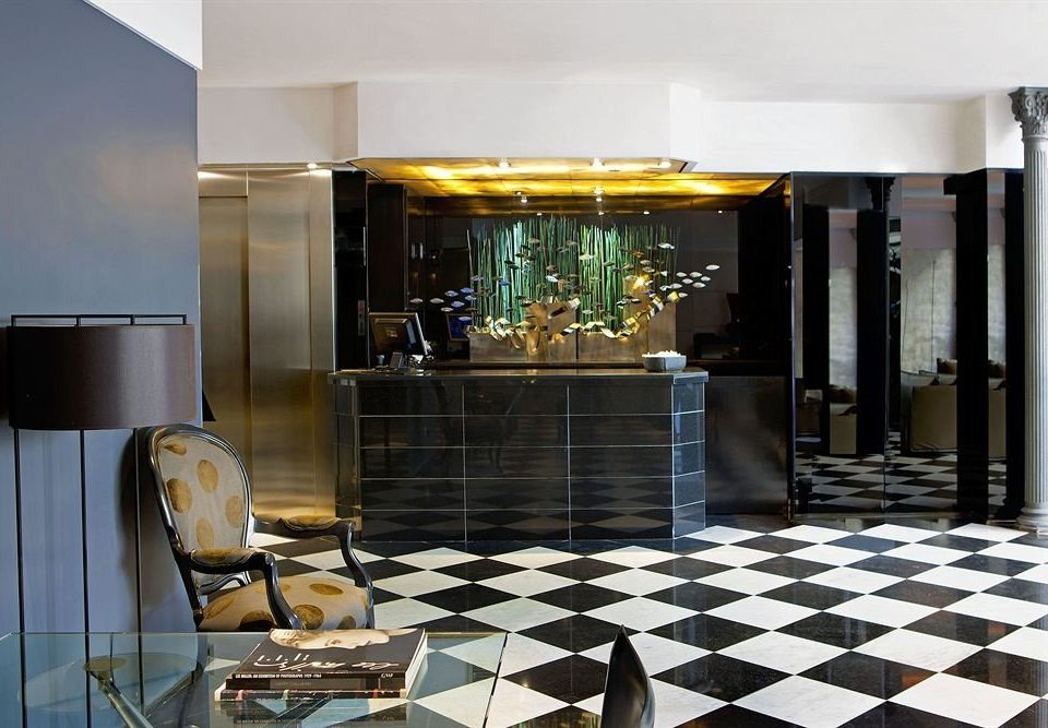 property Lobby black home living room condominium flooring restaurant tiled tile
