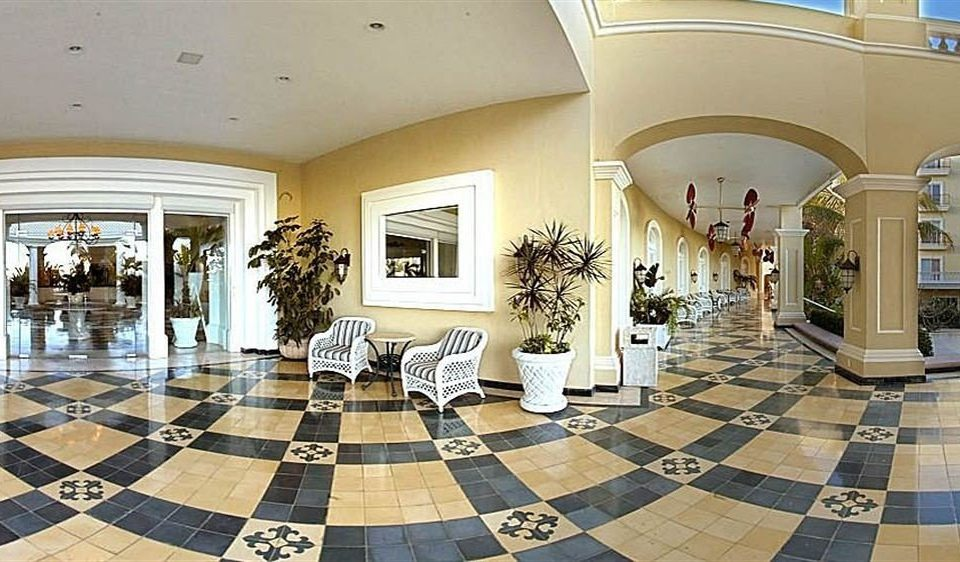 black property Lobby tile rug tiled flooring mansion white home living room hall condominium stone