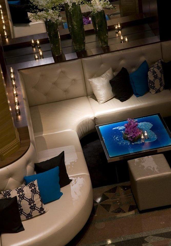 blue living room home Lobby