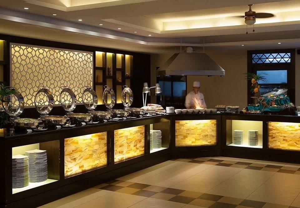 Lobby buffet restaurant