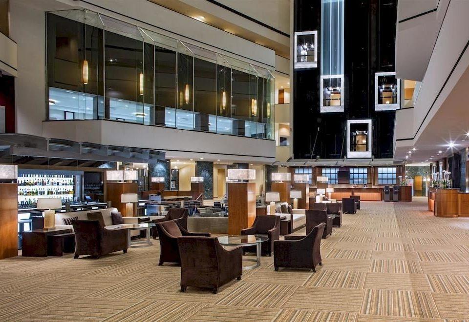 building Lobby restaurant library café plaza