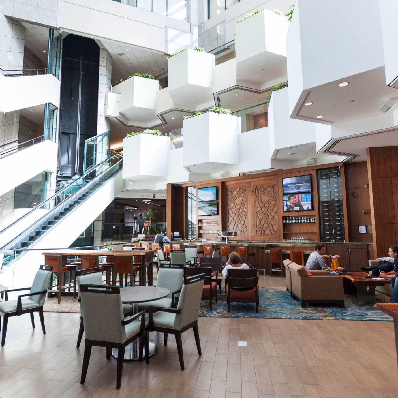chair property building condominium Lobby restaurant cafeteria