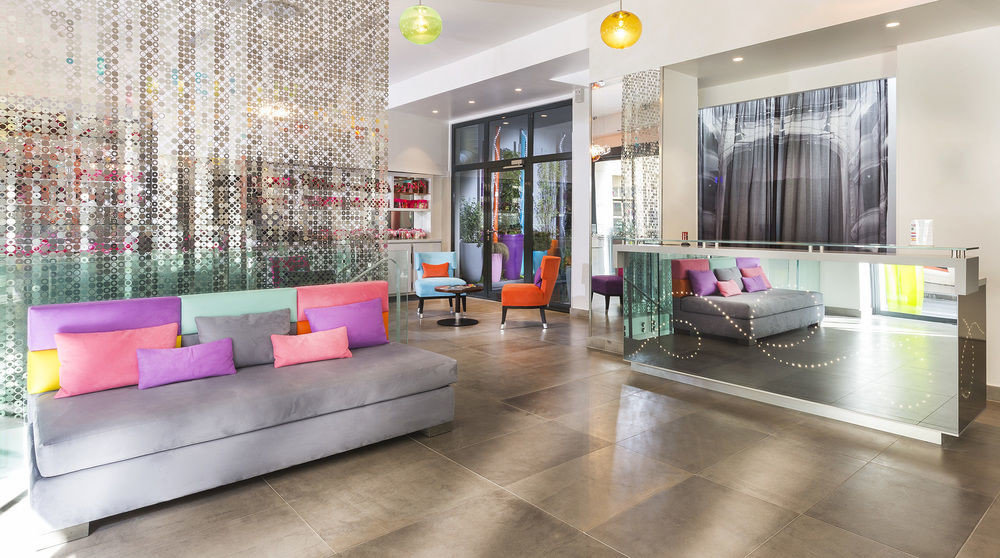 color Lobby property building living room home condominium flooring waiting room colored