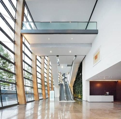 property building commercial building daylighting professional Lobby headquarters loft