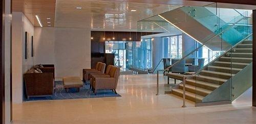 property building Lobby daylighting condominium glass