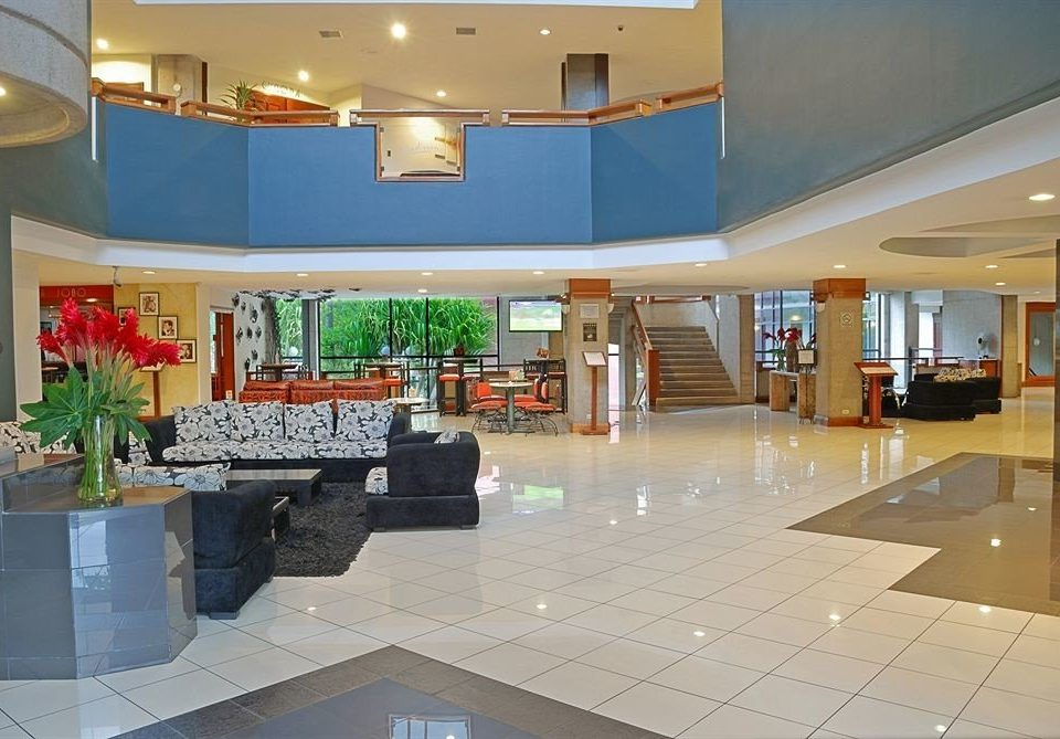 Lobby property building condominium flooring plaza shopping mall