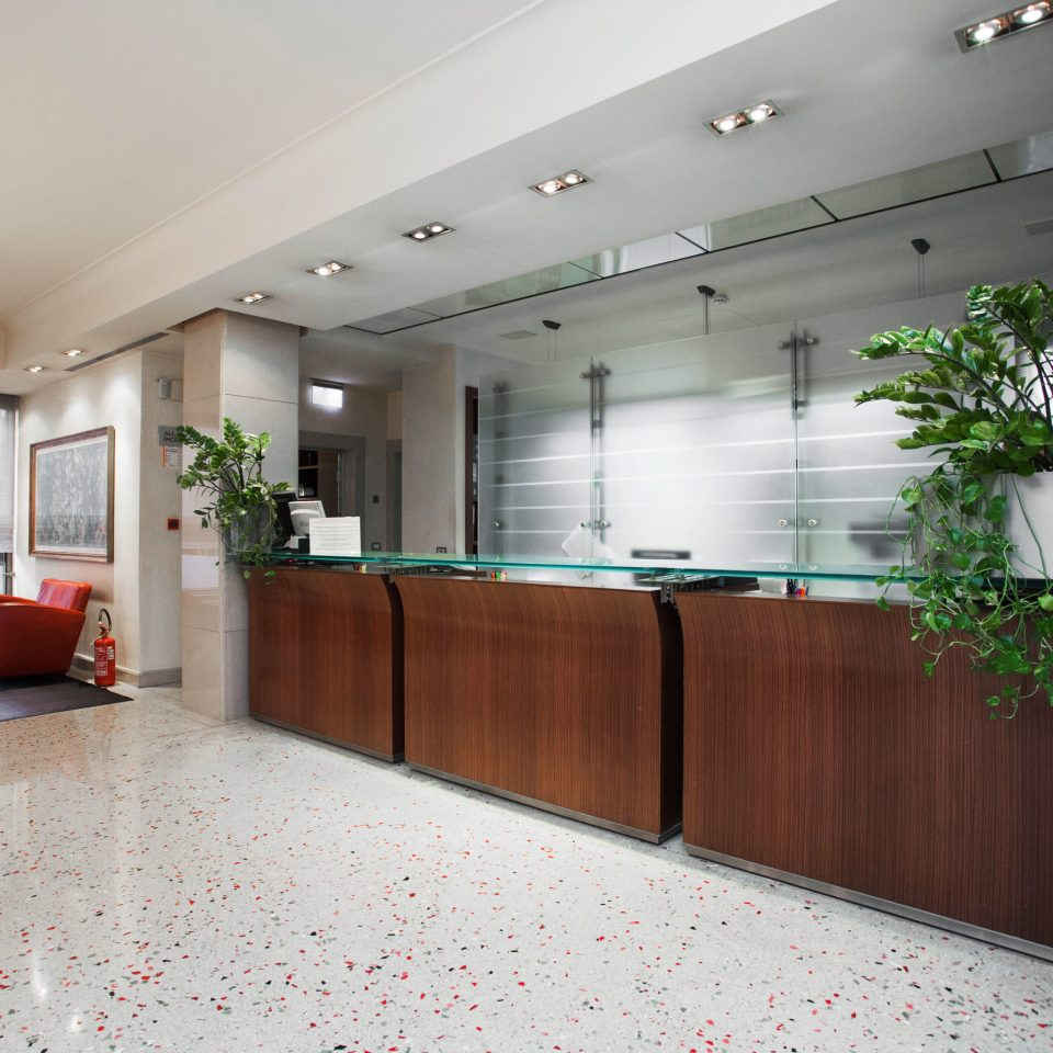 property Lobby building condominium office receptionist headquarters waiting room