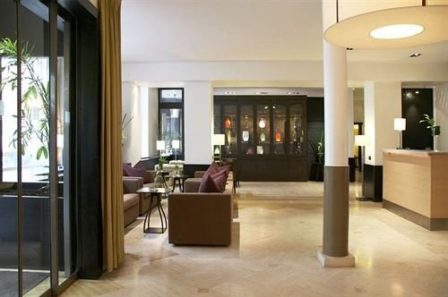 building Lobby property home condominium living room