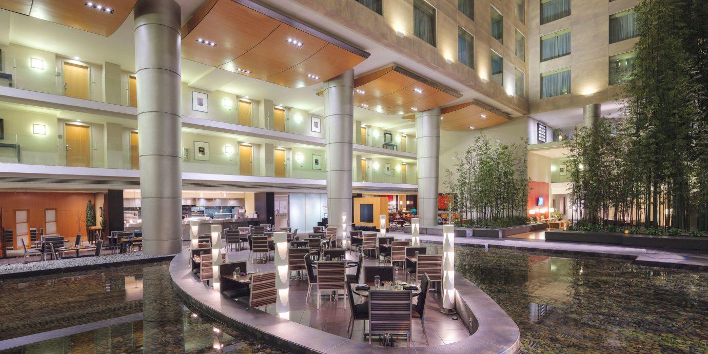 building plaza shopping mall Lobby retail condominium