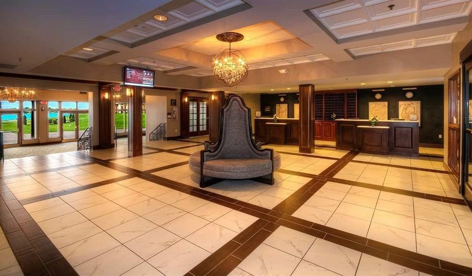 building Lobby property platform mansion convention center tourist attraction empty