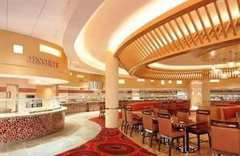 building Lobby function hall convention center restaurant food court fast food restaurant hall